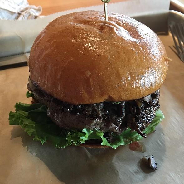 Magic 'Shroom Burger @ Hopdoddy Burger Bar