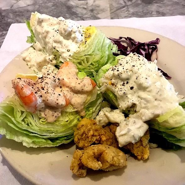 Tri Wedge Salad @ Porter & Luke's Restaurant