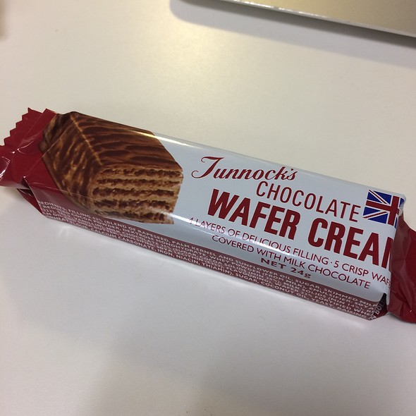 Chocolate Covered Wafers @ Unidentified Location in Tokyo