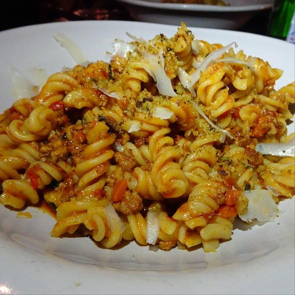 Spicy Sausage Fusili @ Jamie's Italian