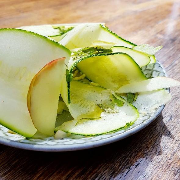 Zucchini E Mele A Fette
