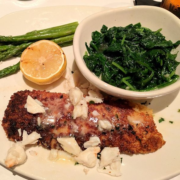 Crab-Crusted Alaskan Cod