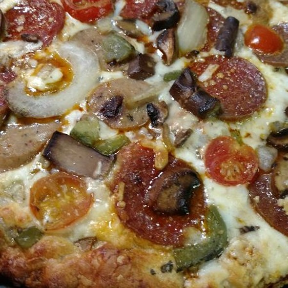 Urban Pie Pepperoni And Sliced Chicken Sausage Pizza