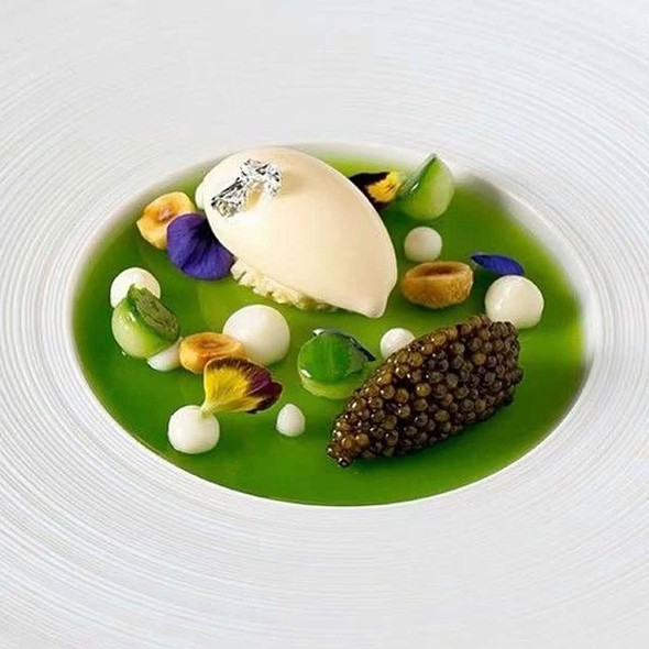 Caviar!!!! @ Grand Hyatt Grand Cafe