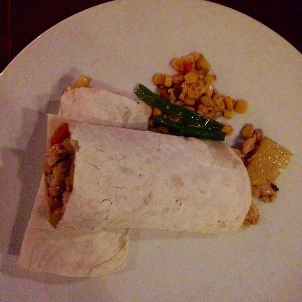 Chicken Masala Wrap @ Spider House