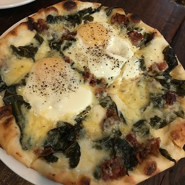 Egg, Gruyere, Collard Greens And Bacon