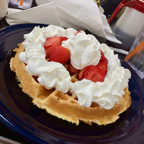Belgian Waffle @ Afternoon Delight