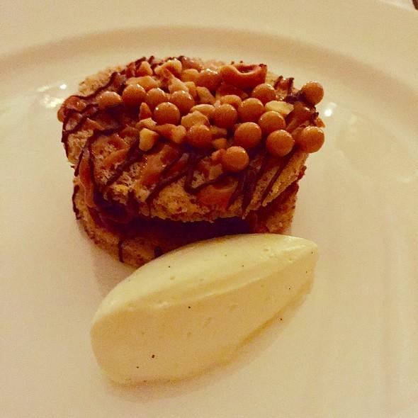Milk Chocolate And Hazelnut Dacquoise @ Ballyfin Hotel