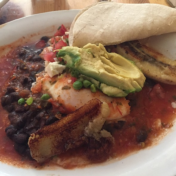 Santa Fe Breakfast Wrap @ Tune-Up Cafe