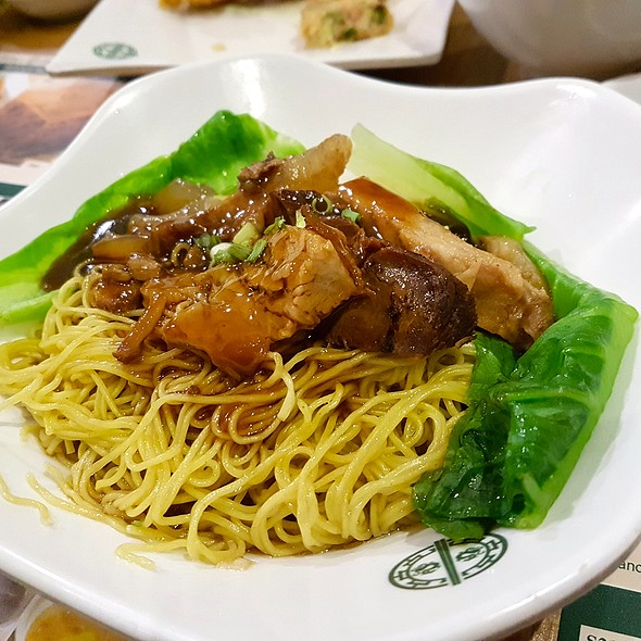 Beef Brisket And Tendon Noodle Soup @ Tim Ho Wan