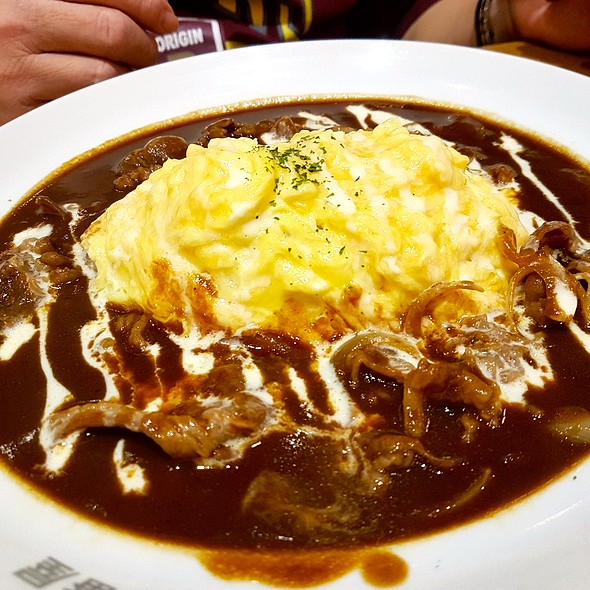 Hash Beef Omelet Curry @ Coco Ichibanya Curry House