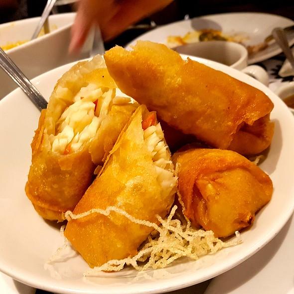 Fried Lumpiang Ubod @ Romulo Cafe