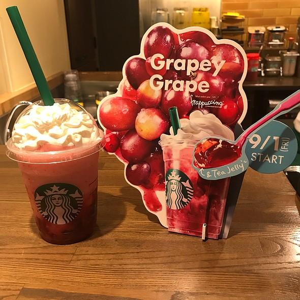 Grape Cranberry Frappe Starbucks