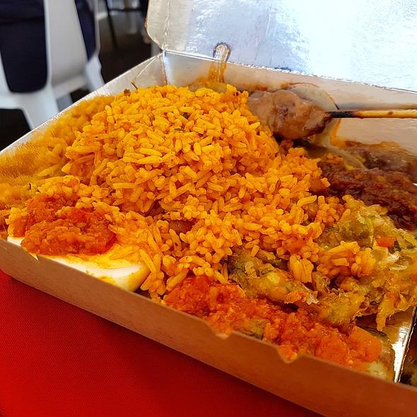 Sate Ayam Set @ Warun