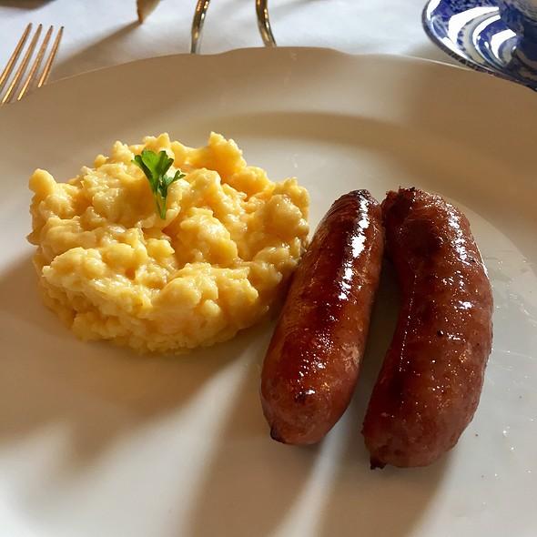 Scrambled Eggs & Sausage @ Ballyfin Hotel