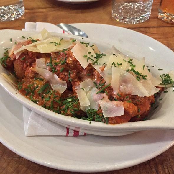 Fried Lasagna Balls @ Amore Cucina And Bar