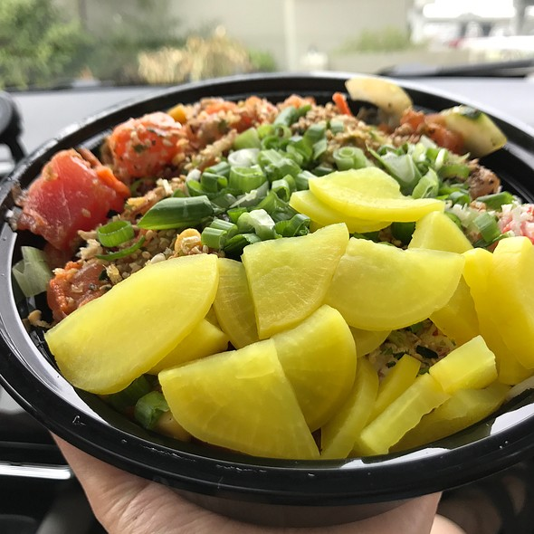 Large Poke Bowl @ Poke Origin