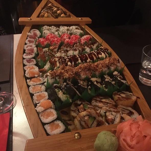 Sushi Boat @ Ikura Sushi Restaurant