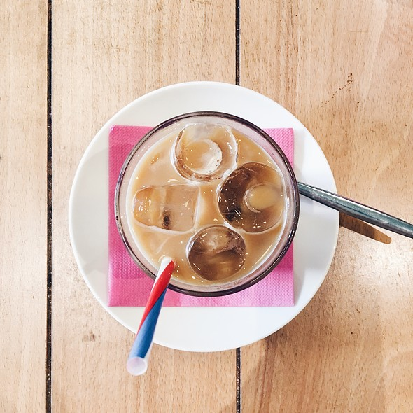 Iced Coffee Latte @ Milwaukee Café