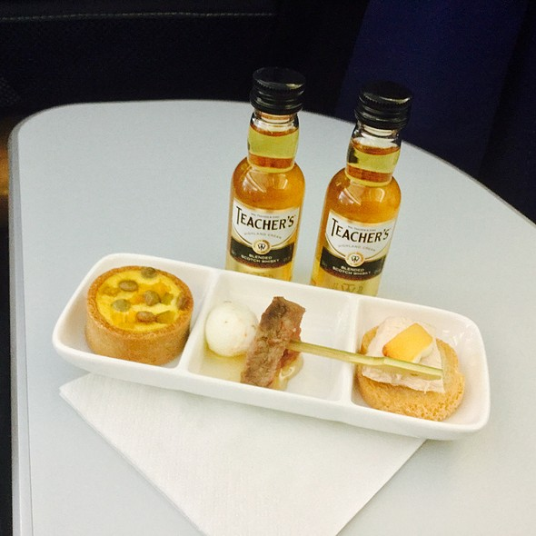 Assorted Appetizers @ Aer Lingus Flight