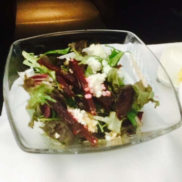 Beet Salad @ Aer Lingus Flight