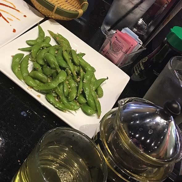 Garlic Edamame & Green Tea