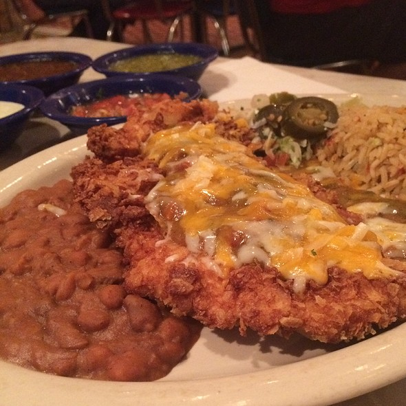 Elvis Green Chile Fried Chicken @ Chuy's