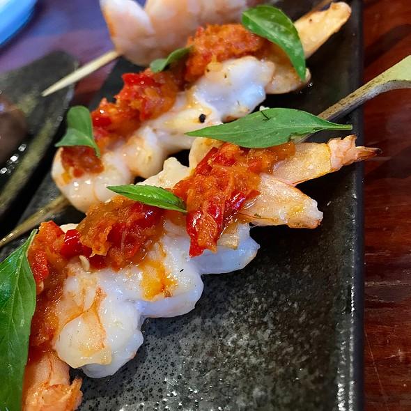 Shrimp Yakitori @ Ramen Gaijin