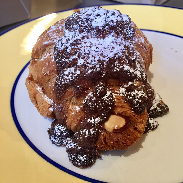 Chocolate Almond Creme Croissant @ Floriole Cafe & Bakery