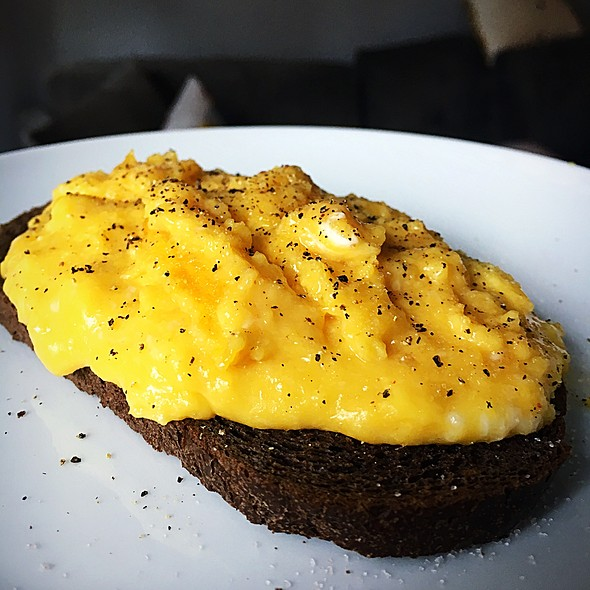 Scrambled Eggs @ Caffe Pepe Rosso