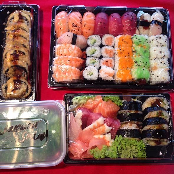 Sushi @ saki sushi restaurant