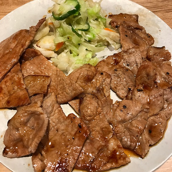 Grilled Pork With Special Sauce @ まつざか