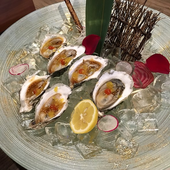 Oysters @ Mikado Sushi