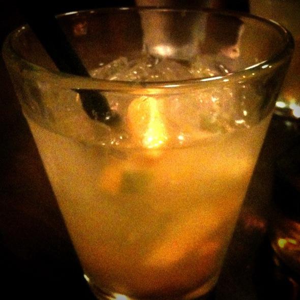 Passion Fruit Sangria @ Cafe Ba-Ba-Reeba