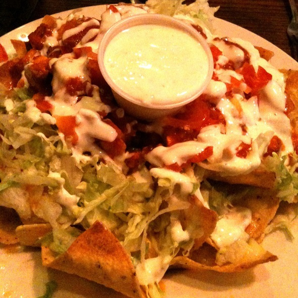 Buffalo Chicken Nachos - R J Grunt's, Chicago, IL
