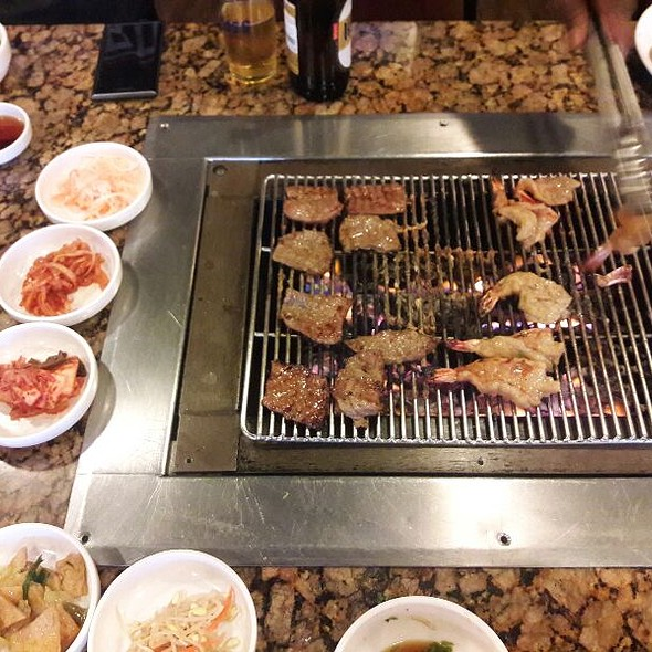 korean barbeque @ Soot Bull Jeep