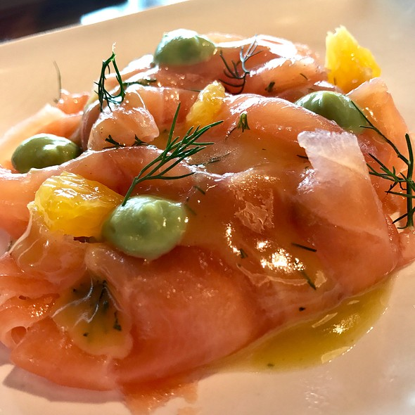 Cured Salmon @ Bread Street Kitchen (Singapore)