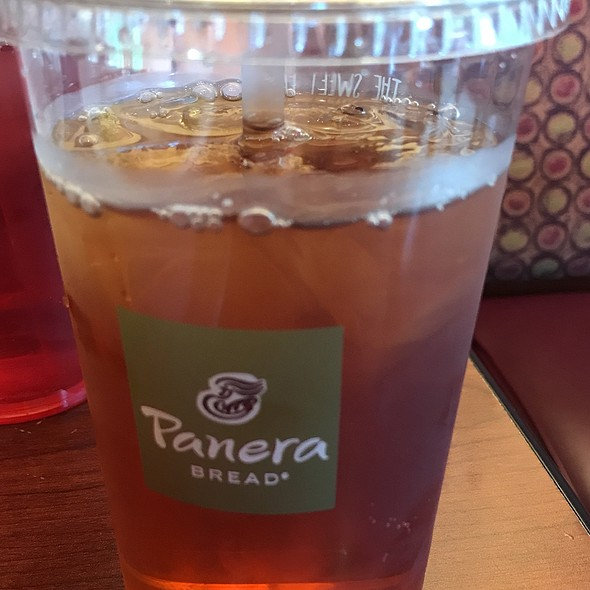 Iced tea @ Panera Bread