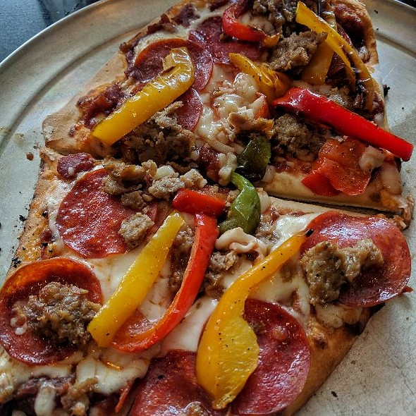 Sausage & Tri-color Peppers