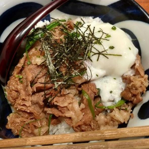 Ontama Sukiyaki Donburi
