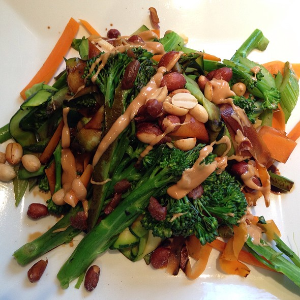 Broccolini, Celery And Carrot Stir Fry With Beer Nuts