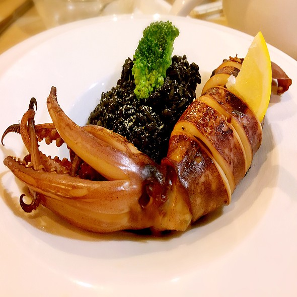 起司魷魚黑嘴飯 @ 小伯爵 义式料理