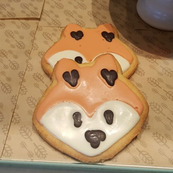 Fox Face Cookie