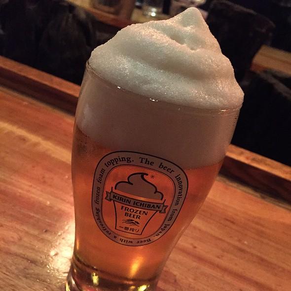 Kirin Ichiban Frozen Beer