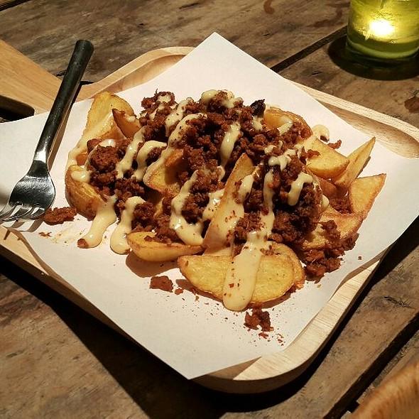 Potato Wedges Mexican Chilli