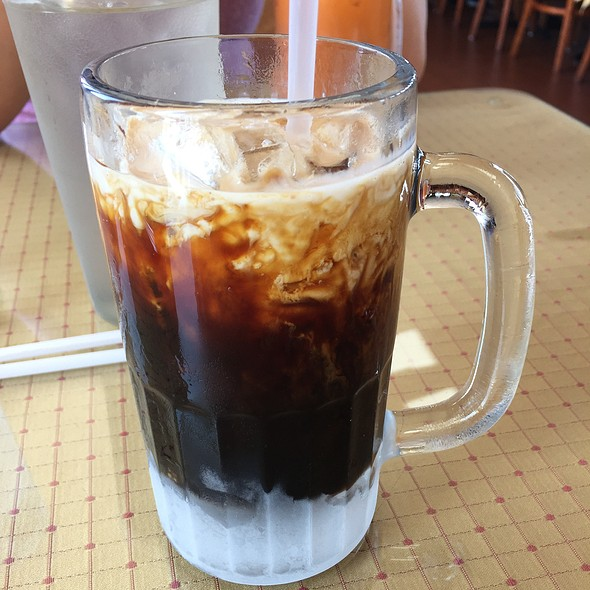 Thai Iced Coffee @ Thai House