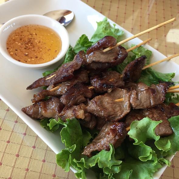 Beef Sticks  @ Thai House