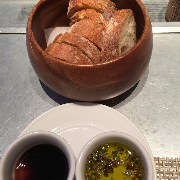 Bread, Olive Oil And Balsamic