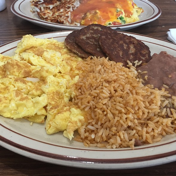Eggs With Rice And Beans