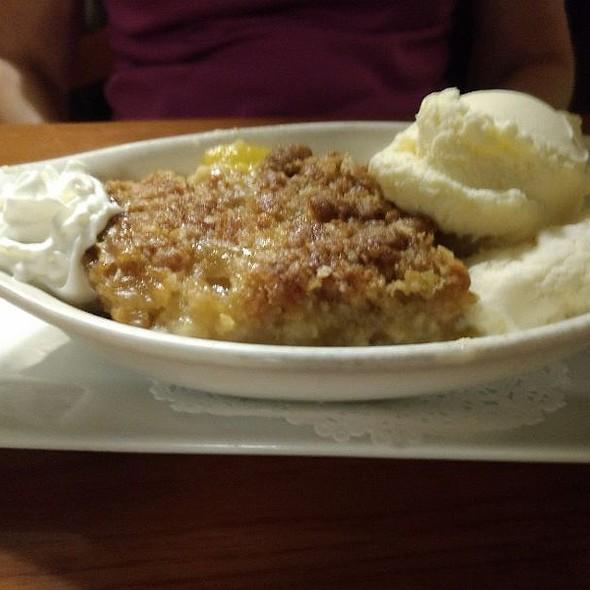Peach Cobbler @ Harvest Grill